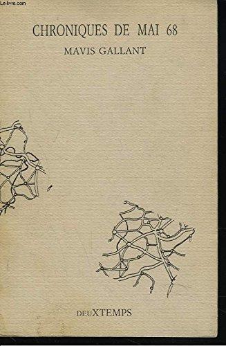 Chroniques de mai 68: GALLANT, Mavis