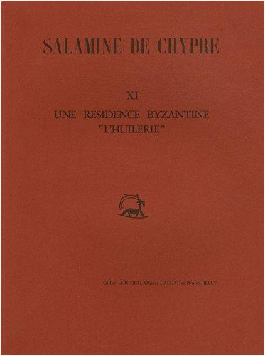 SALAMINE DE CHYPRE, XII: LES FIGURINES DE: Monloup, Therese