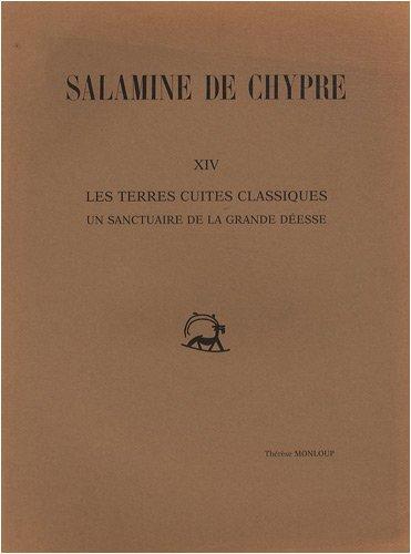 Salamine de Chypre: XIV: Les terres cuites: Monloup, T