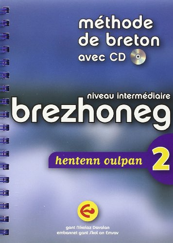 9782903365172: Methode de breton avec CD - Niveau intermédiare brezhoneg