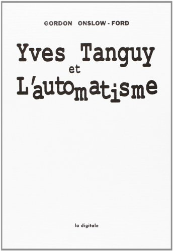 9782903383695: yves tanguy et l'automatisme