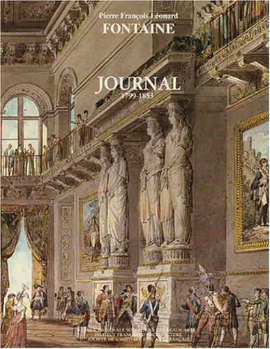 Journal 1799-1853 en 2 volumes: Pierre François Léonard