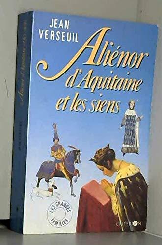 9782903702595: Ali�nor d'Aquitaine et les siens