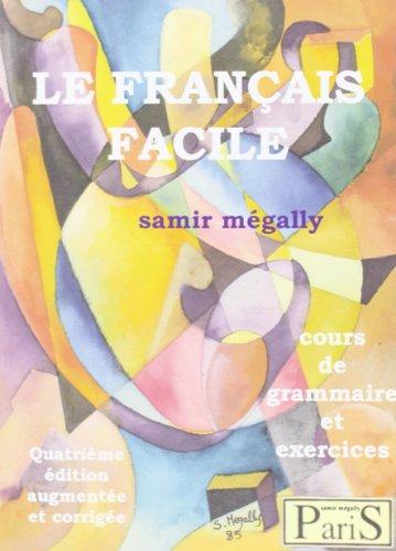 9782903841409: Le français facile : Cours de grammaire et exercices (1CD audio)