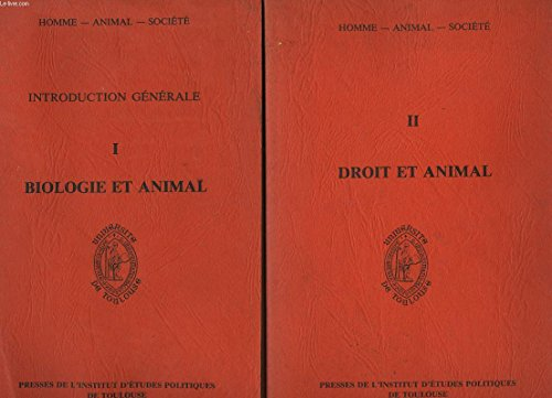 9782903847227: Biologie et animal : Etudes (Etudes / Semaine internationale de l'animal, mai 1987, Toulouse .)