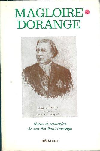 9782903851422: Magloire Dorange