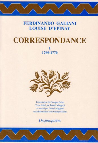 9782904227615: Correspondance (Collection XVIIIe siècle) (French Edition)