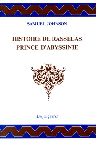 9782904227790: Histoire de Rasselas, prince d'Abyssine
