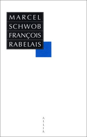 9782904235221: François Rabelais