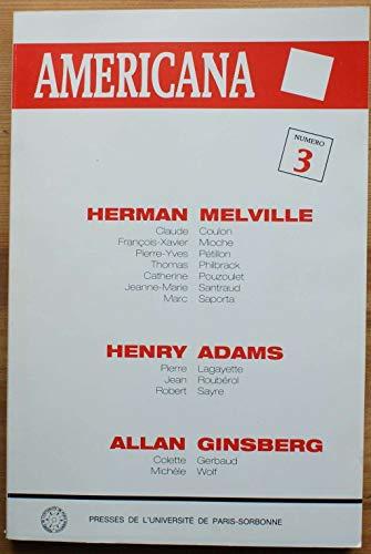 9782904315589: Herman Melville, Henry Adams, Allan Ginsberg