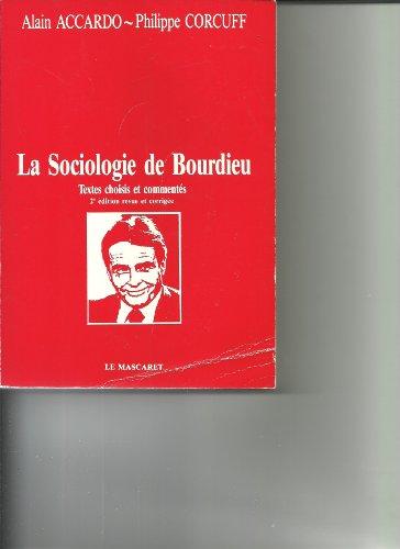 9782904506000: La sociologie de Bourdieu