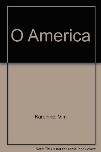 9782904593406: O America (French Edition)