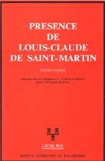 9782904708008: Présence de Louis-Claude de Saint-Martin : textes inédits