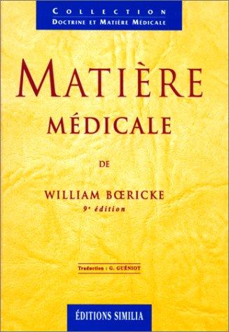 9782904928994: Matière médicale