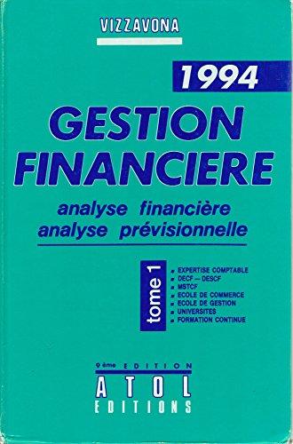 9782905047335: Gestion financi�re, analyse financi�re, analyse pr�visionnelle