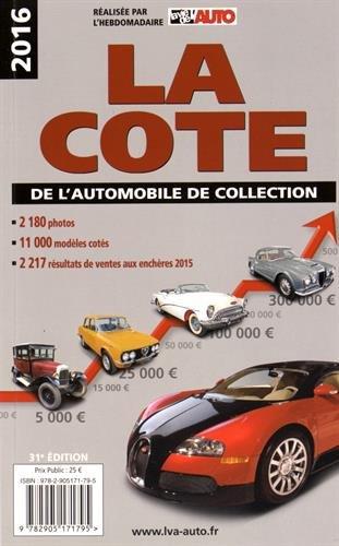 9782905171795: La côte de l'automobile de collection