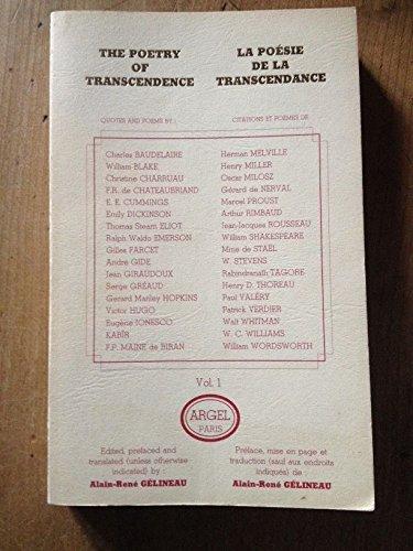 9782905219015: La Poésie de la transcendance