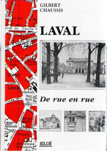 9782905259929: Laval de rue en rue