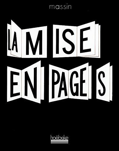 9782905292391: La mise en pages (French Edition)