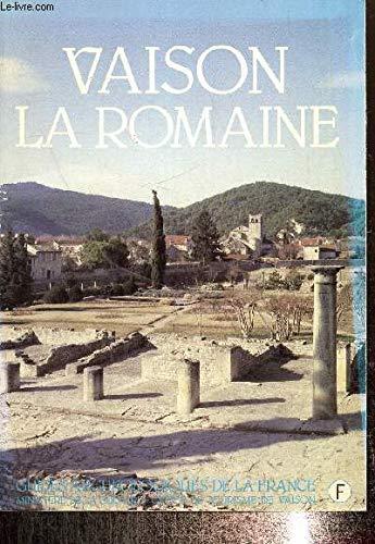 9782905294005: Vaison la romaine