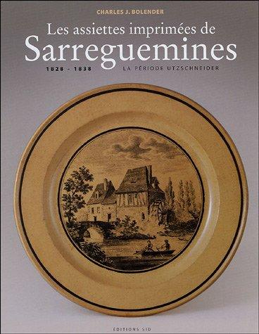 9782905302434: les assiettes imprimmees de sarreguemines