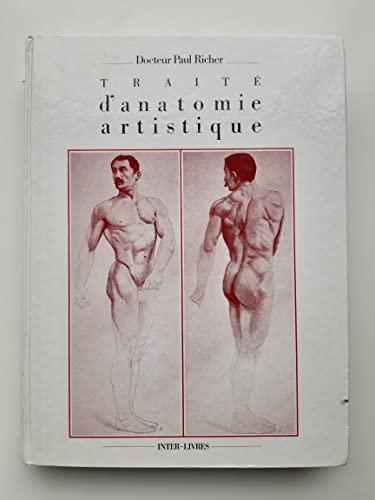 9782905388735: Anatomie artistique : Description des formes exterieures du corps humain au repos et dans les principaux mouvements