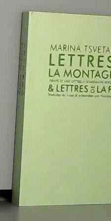 9782905471529: Lettres de la montagne et lettres de la fin