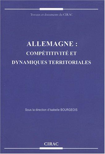 9782905518354: Allemagne : comp�titivit� et dynamiques territoriales