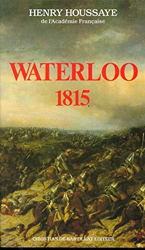 9782905563187: Waterloo, 1815