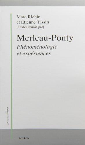9782905614681: Merleau-Ponty, phénoménologie et expériences