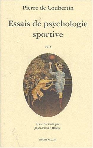 9782905614742: Essais de psychologie sportive, 1913