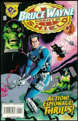 9782905637284: Bruce Wayne Agent of S.H.I.E.L.D. #1 : Mission Destroy Hydra (Marvel / DC Amalgam Comic Book 1996)