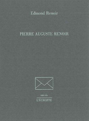 9782905657688: Pierre auguste renoir (Envois)