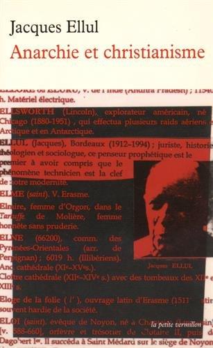 9782905691101: Anarchie et christianisme