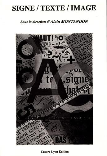 9782905709448: Signe/Texte/Image
