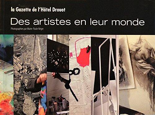 9782905890290: Des artistes en leur monde
