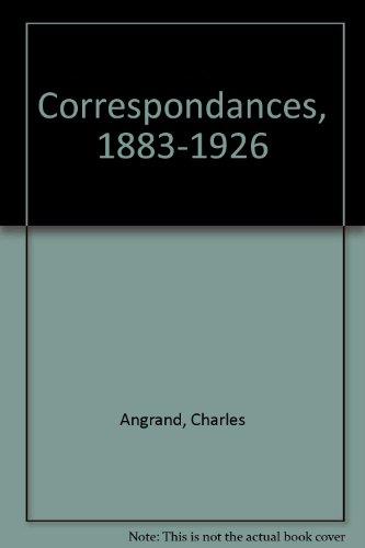 9782906130005: Correspondances : 1883-1926
