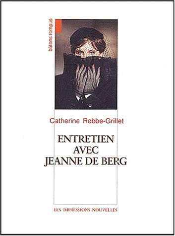 9782906131521: Entretiens avec jeanne berg