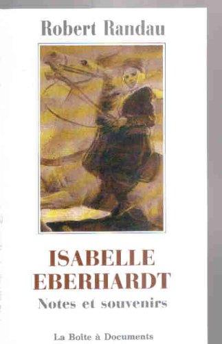 9782906164079: Isabelle Eberhardt : Notes et Souvenirs