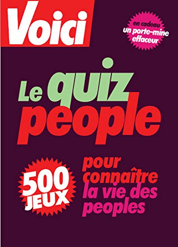 Le quiz people : 500 jeux &: Tirilly, Mikael