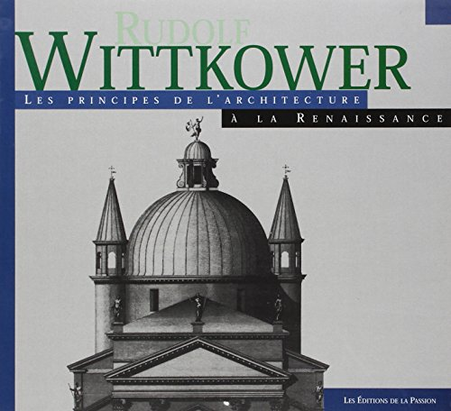 principes de l'architecture: Wittkower