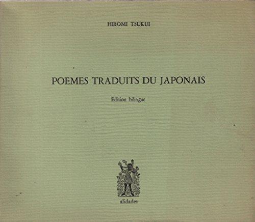 9782906266049: Po�mes traduits du japonais. Edition bilingue fran�ais-japonais