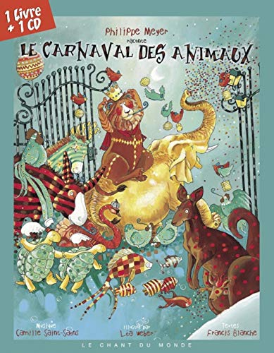 9782906310711: Le Carnaval des animaux (1CD audio)