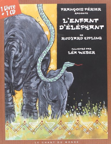 9782906310742: L'enfant d'éléphant (1CD audio) (French Edition)