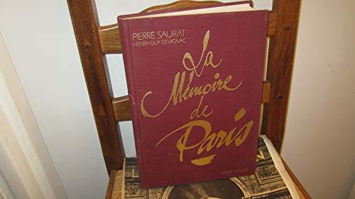 9782906337220: la m�moire de Paris