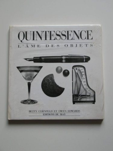 9782906450011: Quintessence : L'âme des objets