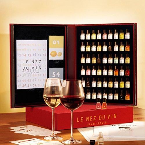 9782906518308: Le Nez du Vin : 54 arômes, collection complète (en allemand) (coffret toile)