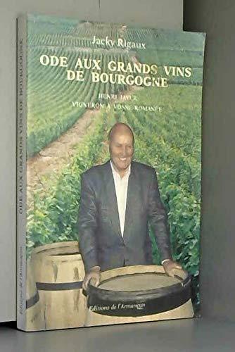 9782906594807: Ode aux grands vins de bourgogne