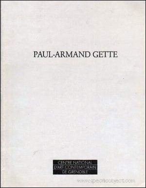 Paul-Armand Gette: Perturbation: Gette, Paul-Armand