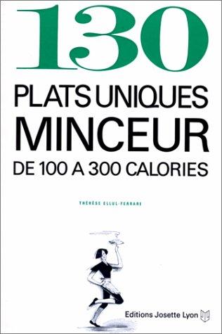 9782906757400: 130 plats uniques minceur